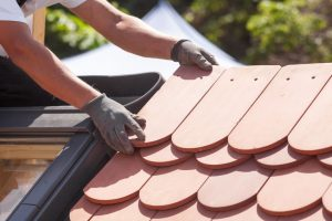roofing product installation cement tile roof